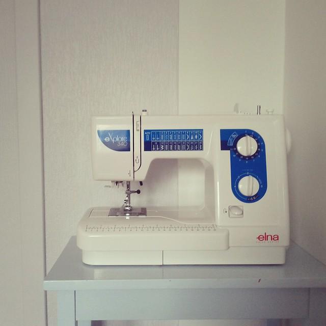 My new sewing machine.