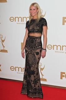 Gwyneth Paltrow Sheer Dress Celebrity Style Women's Fashion