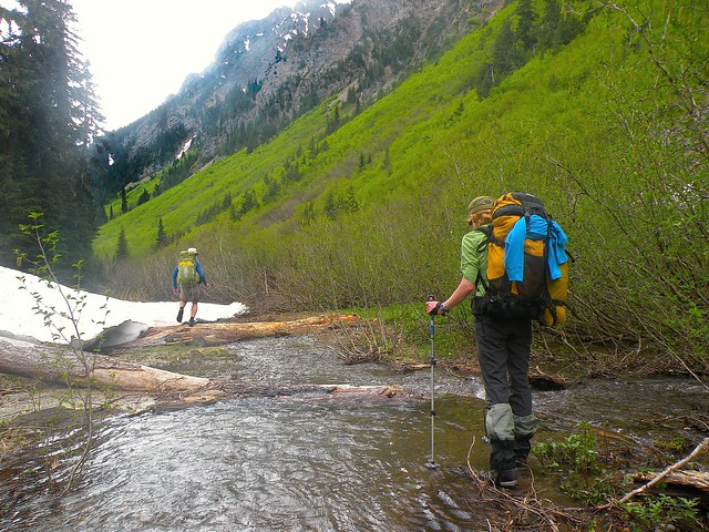 Snass Creek is the trail.