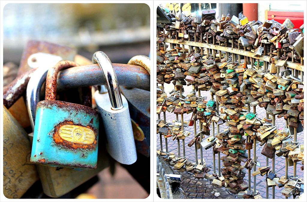 Love locks Montevideo