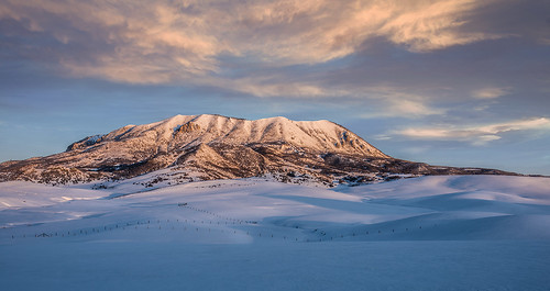 snow sunrise march colorado steamboatsprings