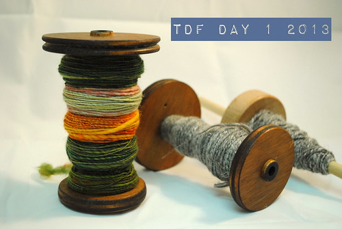 Tour de Fleece day 1 by TartanHearts