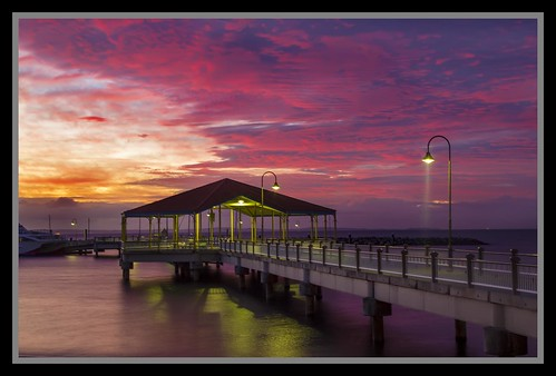 Redcliffe Jetty at Sunrise-2=