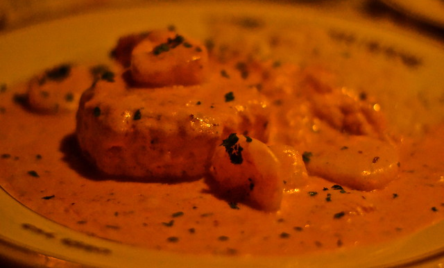 scallops newburg - where to eat in costa rica