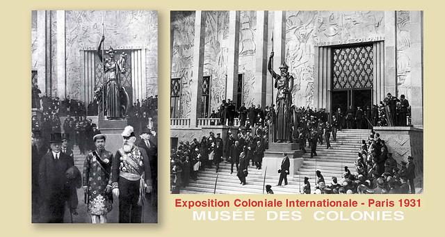 Vua Bảo Đại dự khai mạc Hội chợ Thuộc địa Quốc tế - Paris 1931