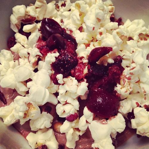 popcorn protein geek bowl