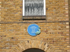 Photo of George Morland blue plaque