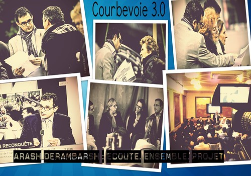 "Arash Derambarsh et le club ""Courbevoie 3.0"" by Arash Derambarsh"