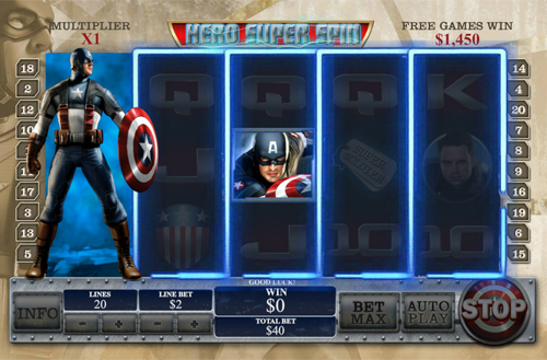 free Captain America - The First Avenger bonus prize