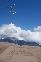 Sockey at Great Sand Dunes National Park, Colorado