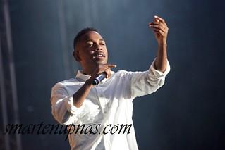 Alicia Keys , Public Enemy and Kendrick Lamar performing in Sweden