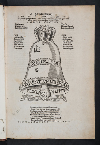 Illustrated title-page of Campanus, Johannes Antonius: Opera