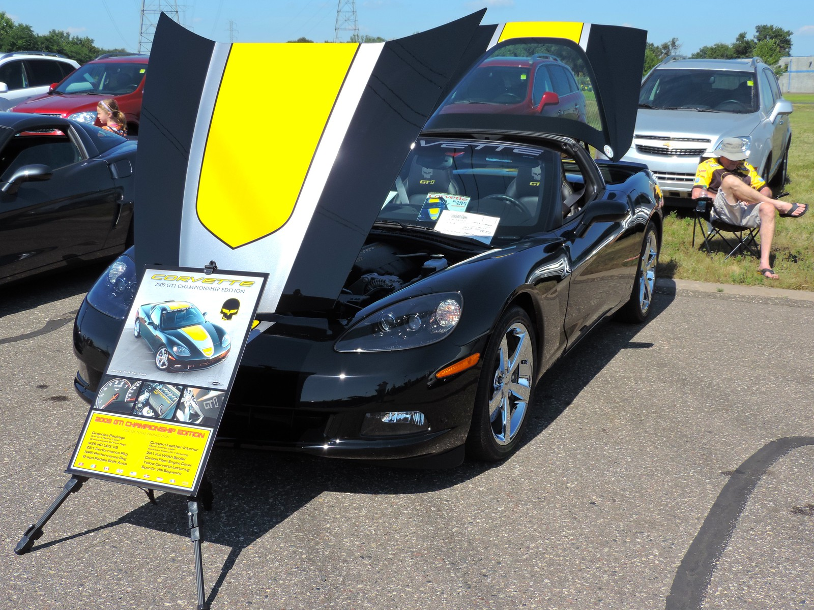 St Croix Valley Corvette Club Car Show At Stillwater