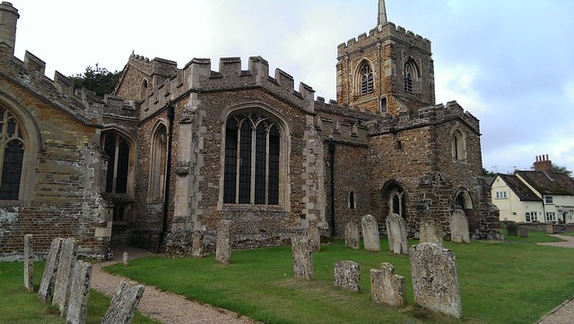 Gamlingay parish church, Cambridgeshire
