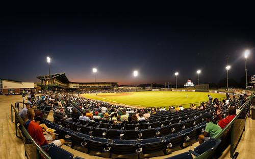 usa baseball panoramic ms pearl aa minorleague southernleague