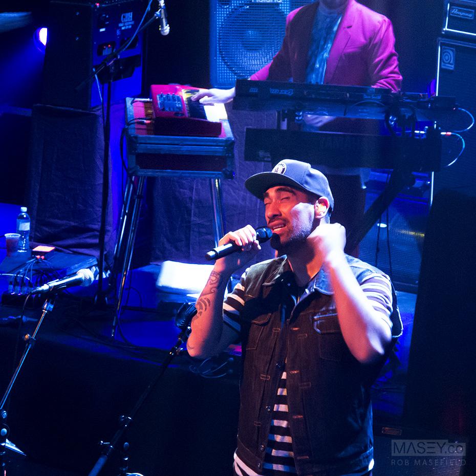 Fat Freddy's Dallas Tamaira on lead vocals.