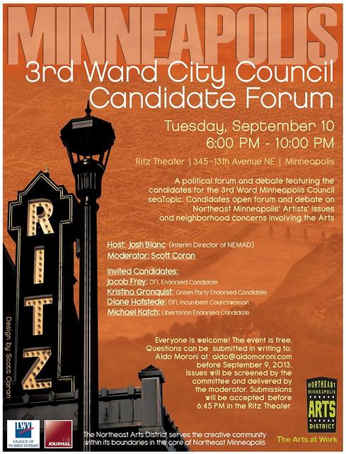 09.10.13 Candidate Forum