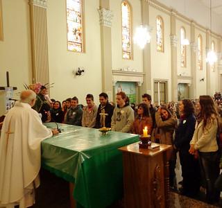 Celebração marcou o envio para a missão em Tapejara