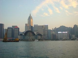64 Uitzicht Victoria Harbour richting Hong Kong Island