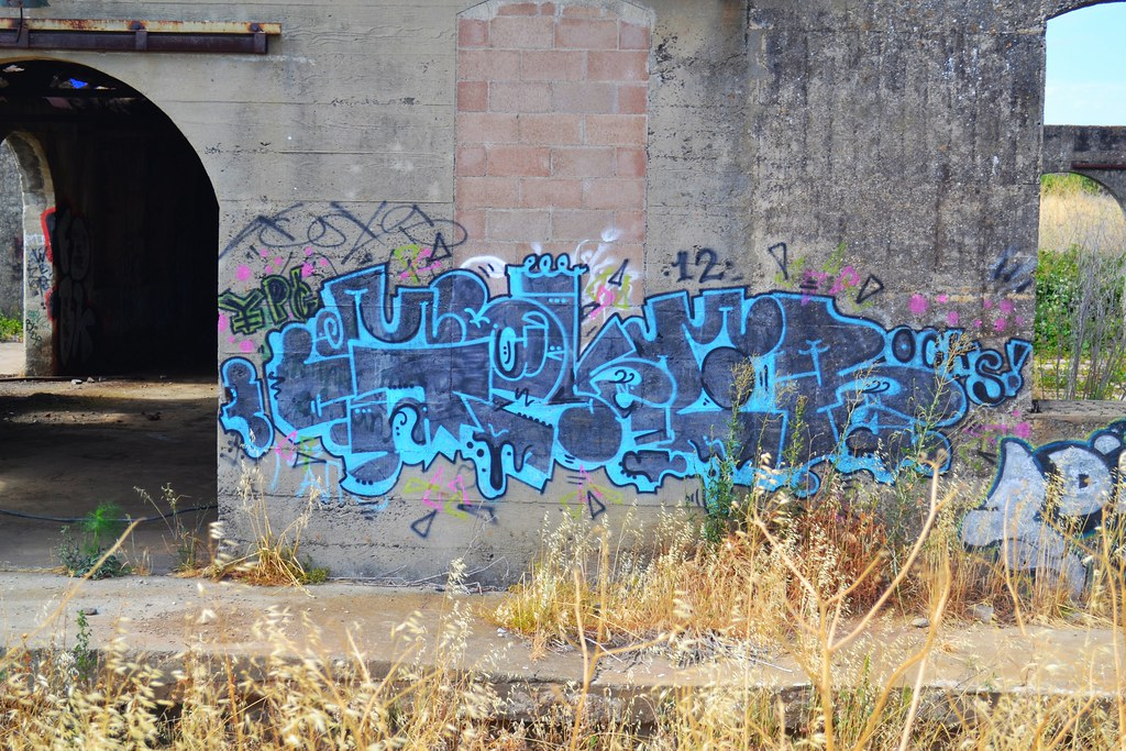 GOKER, Graffiti, The Yard, NorthBay,