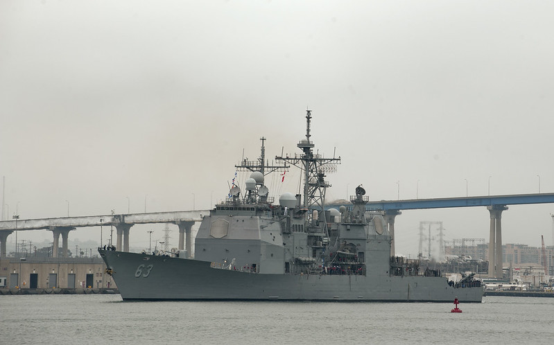 Click here to see more photos of USS Cowpens (CG 63)