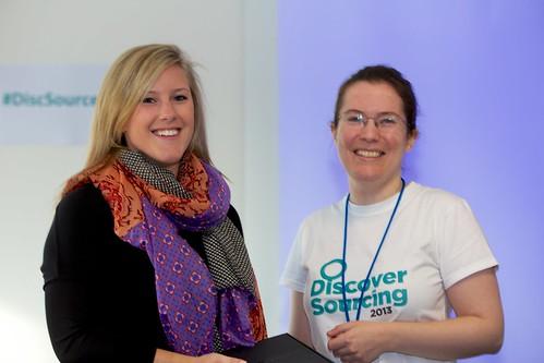 Olivia Coleman & Katharine Robinson at #DiscSource
