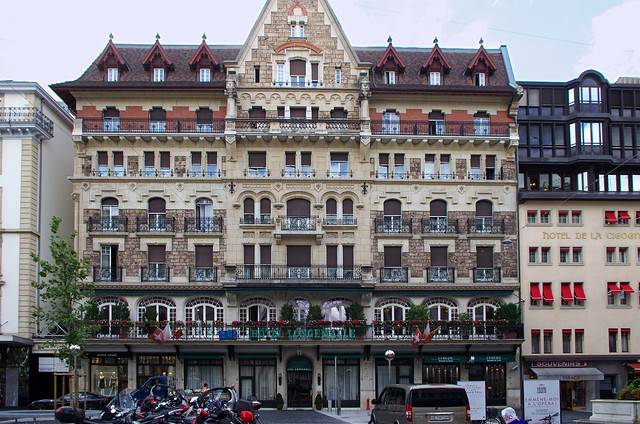ginebra hotel longemalle: