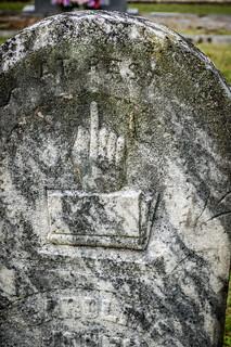 Giving the finger?