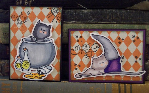 Black Cat ACEO set