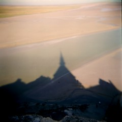shadow of mont st michel