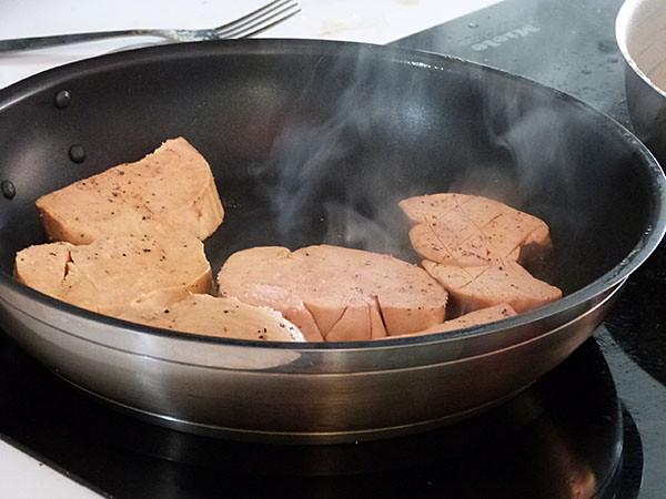 cuisson du foie