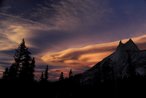 Cathedral Peak Sunset