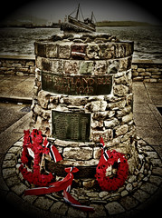 """The Shetland Bus"" memorial,Scalloway,Shetland#Shetland#camera+ by davidearlgray"