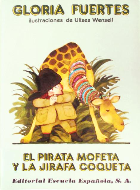 Cubierta de El pirata Mofeta y la jirafa coqueta