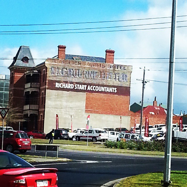 Doveton Street North,  near Creswick Road roundabout #ballarat #ghostsigns