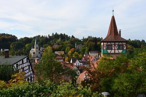 Der ganz alte Teil von Kulmbach.