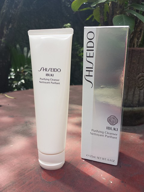 10527984905 2a8959b932 z Shiseido Ibuki Purifying Cleanser Review