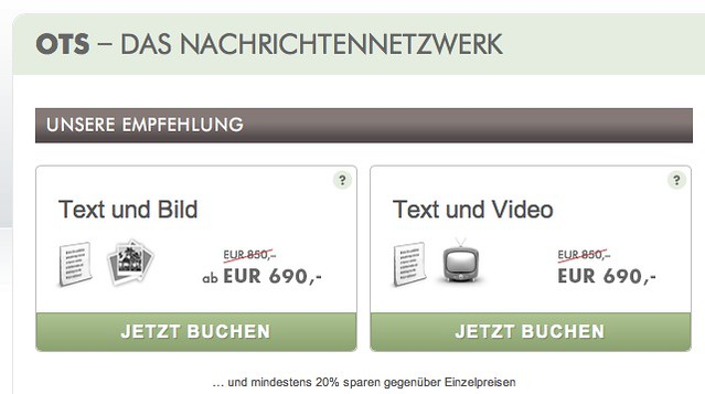 Neu: OTS-Text-Video-Paket