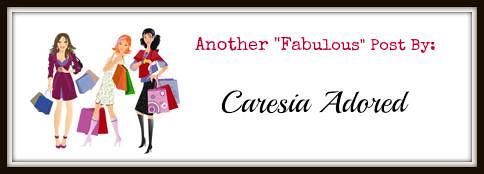 """Caresia Adored """"Fabulous"""" Tag"""
