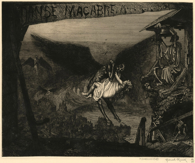 Marcel Roux - Danse macabre (frontispice) 1904