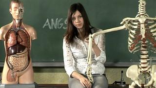 Claudia Eisinger in 'test123' - a social spot against animal testing (PETA)