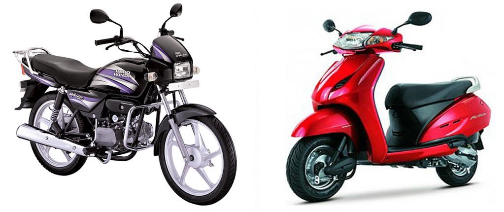 Hero Splendor vs Honda Activa