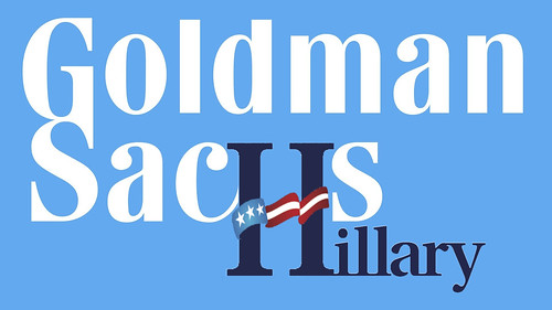 Goldman Sachs Loves Hillary Clinton
