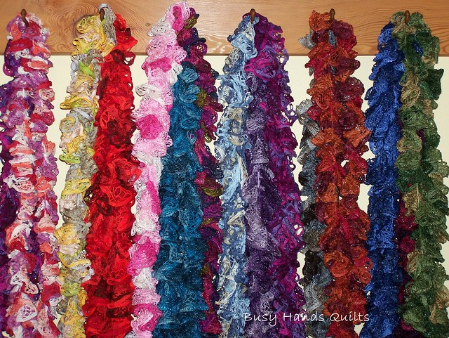 16 Ready-Mad Ruffle Scarves