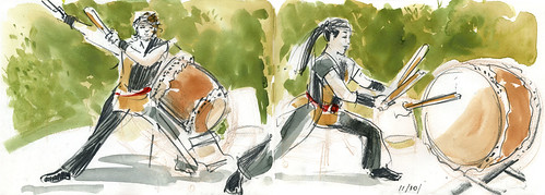 Taiko Drummers #1