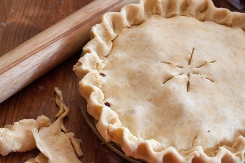 Cranberry Pie  Precook