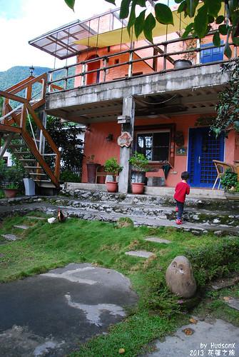 餐廳後方的小庭院(2)