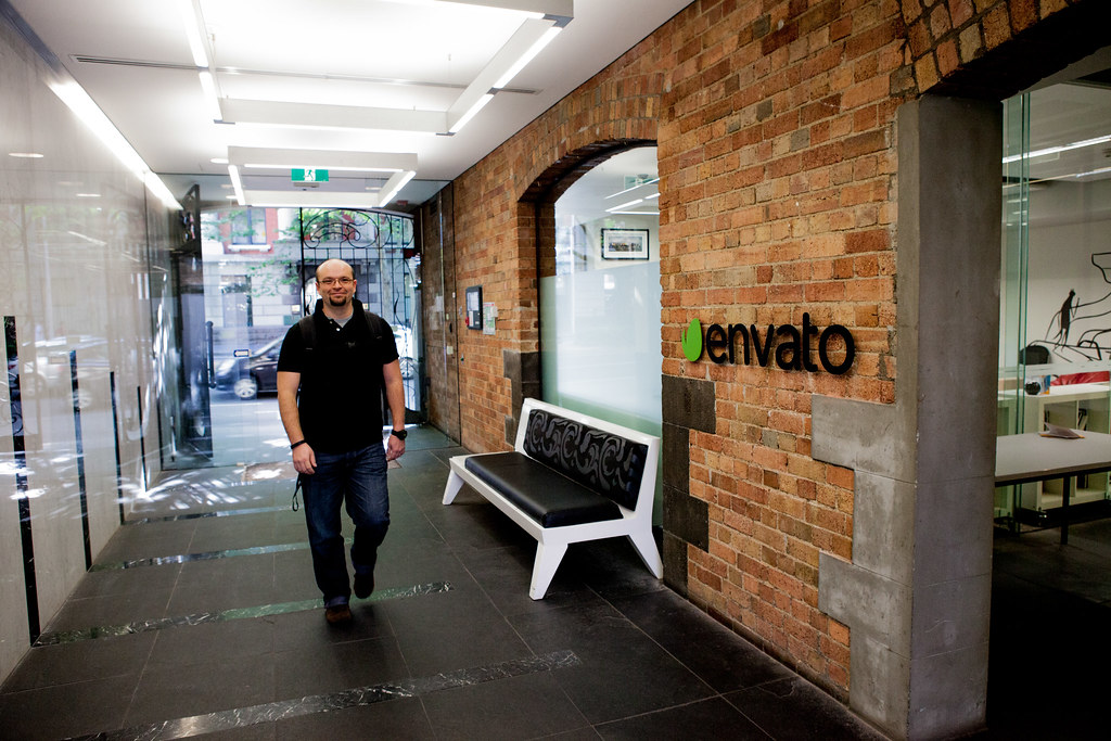 9:01am - Collis arrives to work at the new Envato office on King St | A Day in the Life of the CEO
