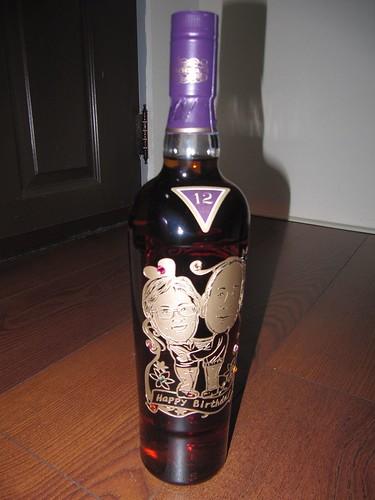 07-酒瓶雕刻-麥卡倫精選紫鑽1
