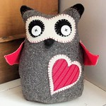 Scandi Owl Doorstop